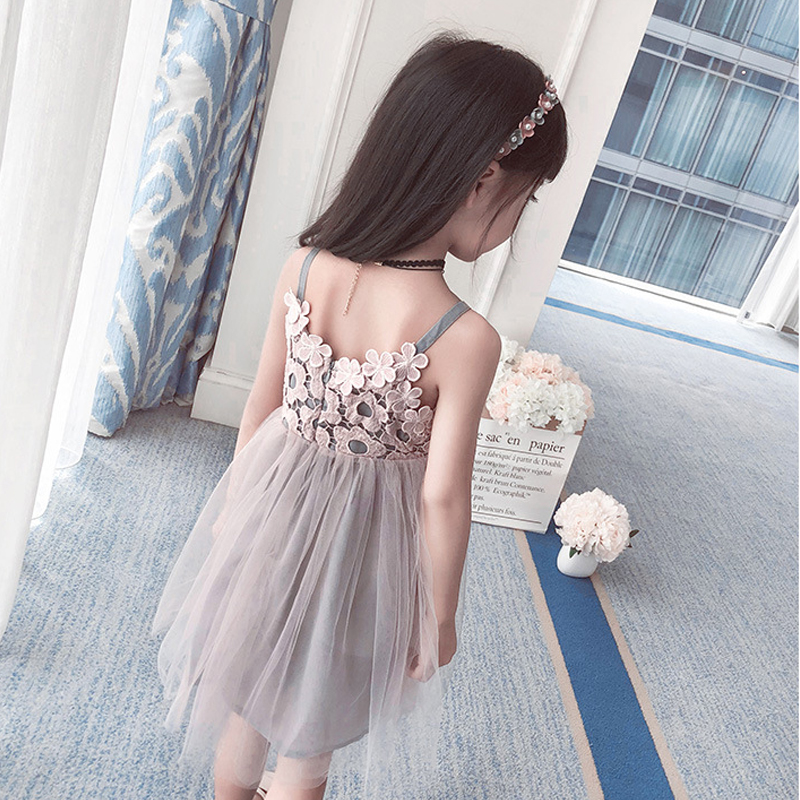 HTB1tkuAyYGYBuNjy0Foq6AiBFXaO - Sodawn 2018 New Children Clothing Fashion Girls Dress Lace Fluffy Pop Princess Dresses Baby Girls Clothing Summer New Kids Dress