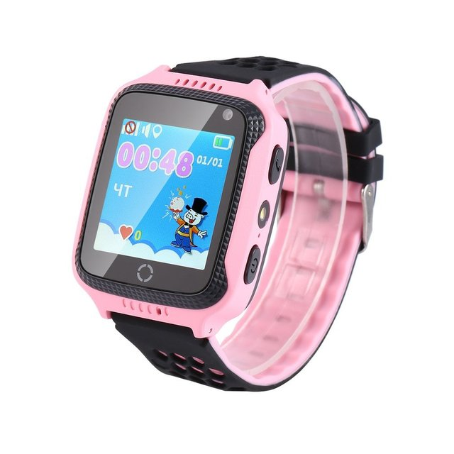 New Q528 Kids Smart Watch With Flashlight & Camera SOS Location Tracker GPS LBS Device Baby Children Watch For Girls