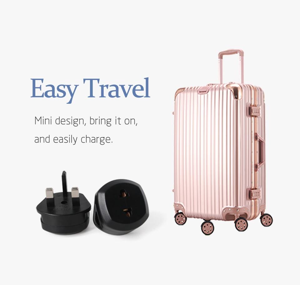 1PC EU US To UK Conversion Plug Travel In UK Ireland Singapore Maldives Malaysia Dubai Kenya India Mauritius Smartphone Charging (3)