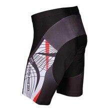 Nuevos hombres Ciclismo Shorts 3D Gel Acolchadas Bicicletas/Bicicletas Deportes Al Aire Libre Apretado S-3XL 9 Estilo