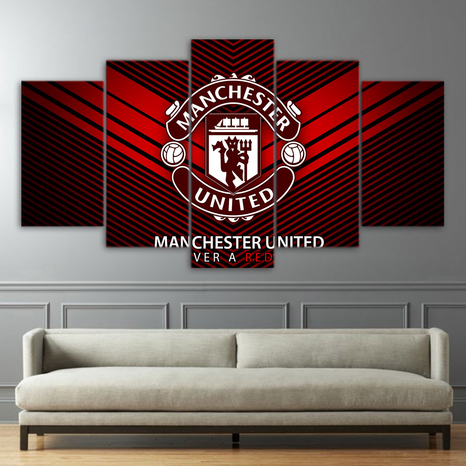 Manchester football canvas wall art for Home decor us