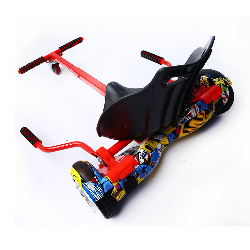 High quality 4 colors HoverboardSeat Go Kart Conversion Kit for Hoverboards Self Balancing scooter not included Hoverboardkart