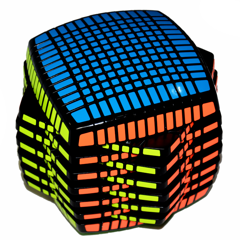 Moyu 13Layers 13x13x13 Cube Speed Magic Cube Puzzle Educational Toy 136mm Round Shape Limited Version magico Toys qiyi megaminx magic cube stickerless speed professional 12 sides puzzle cubo magico educational toys for children megamind