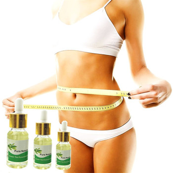New Beauty Weight Loss Green Tea Essential oil Slimming Body Creams Thin Waist Stovepipe Full Body Green Tea Gel Anti Cellulite Essential Oil