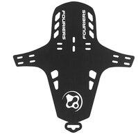 1pcs 자전거 자전거 블랙 fouriers 프론트 포크 펜더 머드 가드 mtb 머드 가드 pp 28g