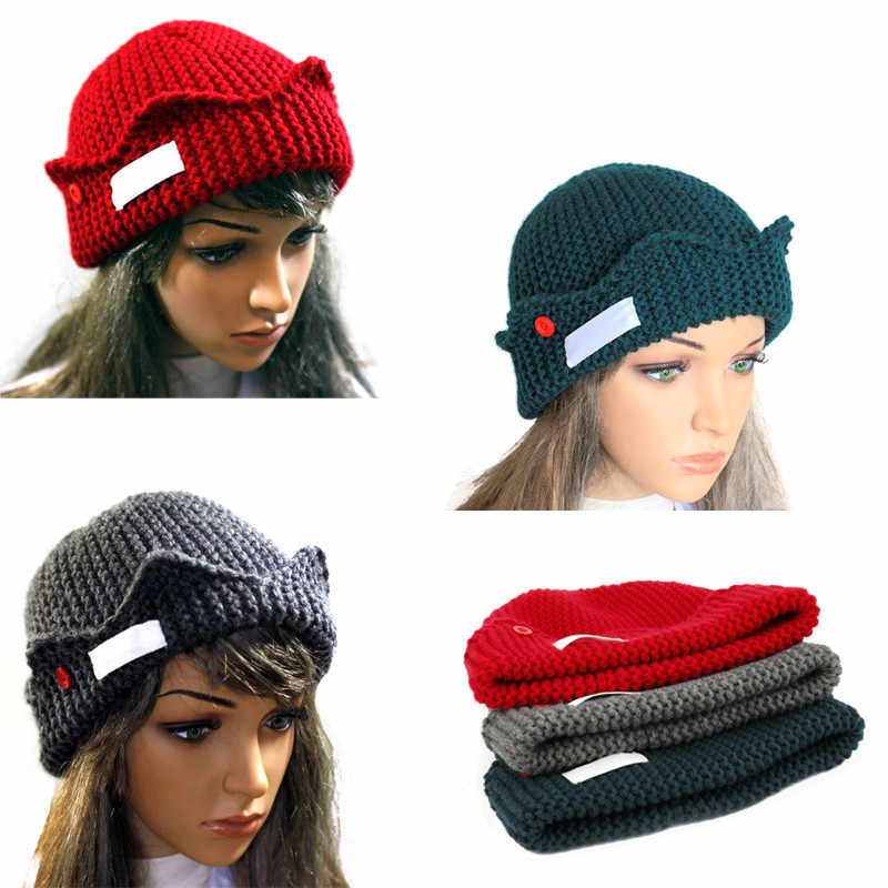 Women Accessories Beanie Autumn Winter Soft Warm Knitted Beanies Cap Skull Gorro Ski Caps Riverdale Jughead Jones Beanie