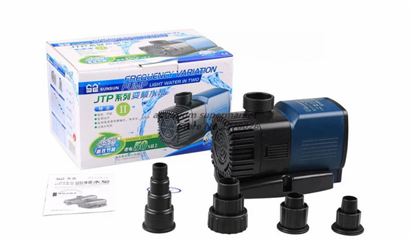 SUNSUN 1 piece JTP 9000 70W 9000L H frequency conversion silent cycle filtration water pump submersible