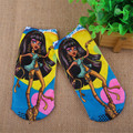 4pairs/lot Girls Princess Monster Socks Children Cartoon Style Kids High School Ever After Cute Socks Soft Wear Socks