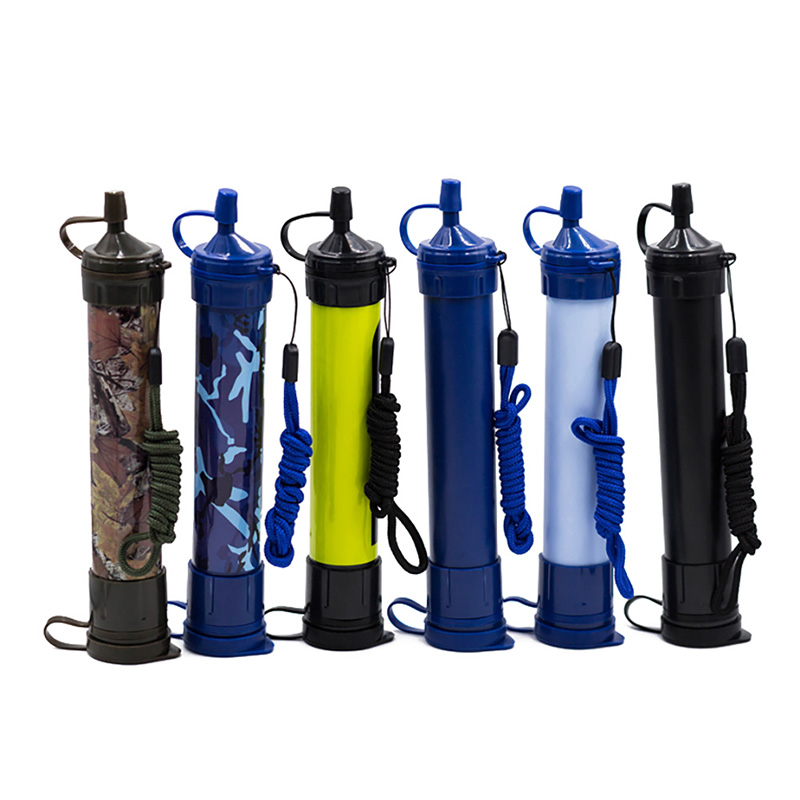 Portable Purifier Straw Water Filter Personal Survival Kit Emergency Gear Super water filtration Wild Outdoor essential ToolsPortable Purifier Straw Water Filter Personal Survival Kit Emergency Gear Super water filtration Wild Outdoor essential Tools