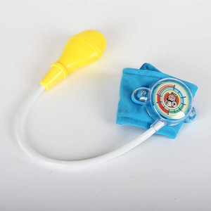 Image 4 - Baby Blood Pressure Toy Funny Real Life Doctor Medical Bauble Nurses Blood Dentist Pretend Toys Kids Play Equipment CL5642