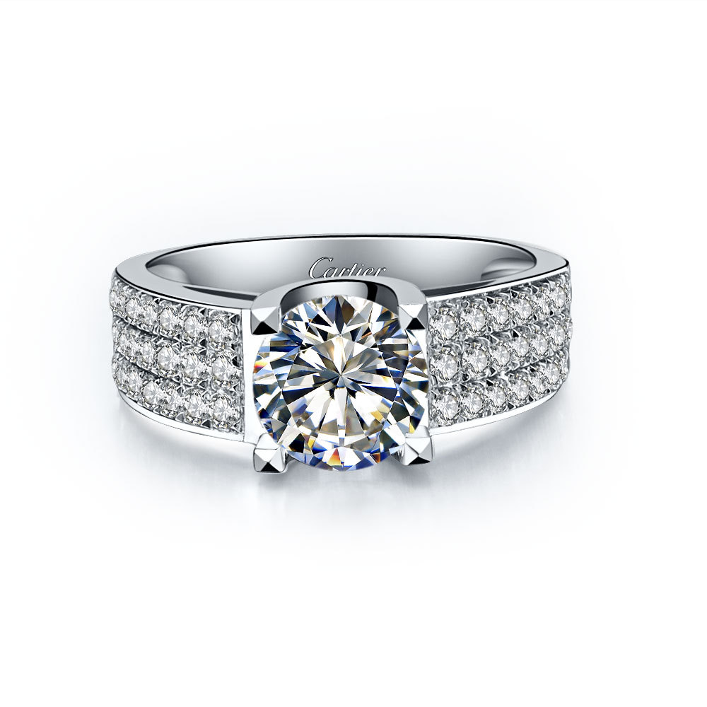 ring this around exquisite subtle diamond pin in gem halo rings center a blooms floral the engagement