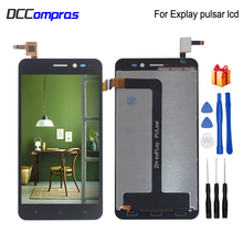 For Explay Pulsar LCD Display Touch Screen Digitizer Repair Parts For Explay Pulsar LCD Screen Display Replacement with Tools 7inch lcd display screen for ritmix rmd 721 explay informer 701 explay informer 703 russia tablet replacement free shipping