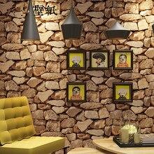 купить Chinese retro personality stone marble culture stone wallpaper living room bar cafe brick wallpaper office home decor wall rolls по цене 1731.84 рублей