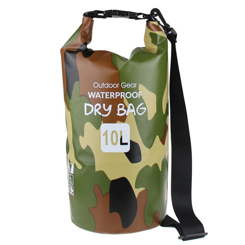 Campleader Waterproof Outdoor Ultralight Swimming Dry Bag Swimming Storage 20L 25L Drifting Waterproof Rafting bag CL127