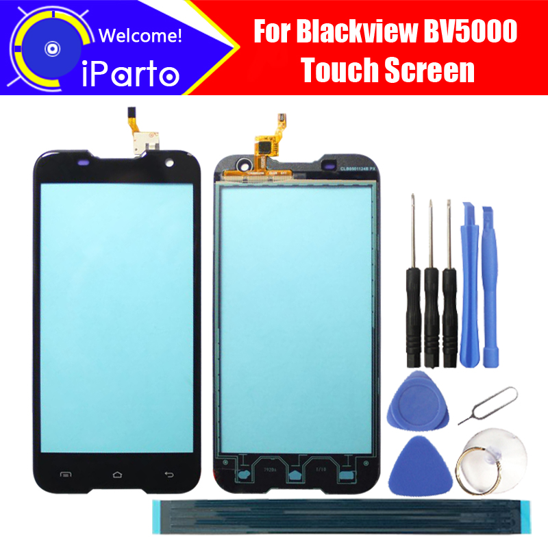 5.0 inch Blackview BV5000 Touch Screen Glass 100% Guarantee Original New Glass Panel Touch Screen For BV5000 +tools+ Adhesive5.0 inch Blackview BV5000 Touch Screen Glass 100% Guarantee Original New Glass Panel Touch Screen For BV5000 +tools+ Adhesive
