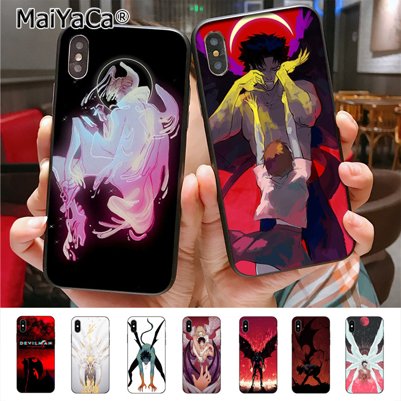 MaiYaCa Crybaby Devilman On Sale! Luxury Cool Phone Case For IPhone X 7plus 6 6s 7  8 8Plus 5 5S 5C Case