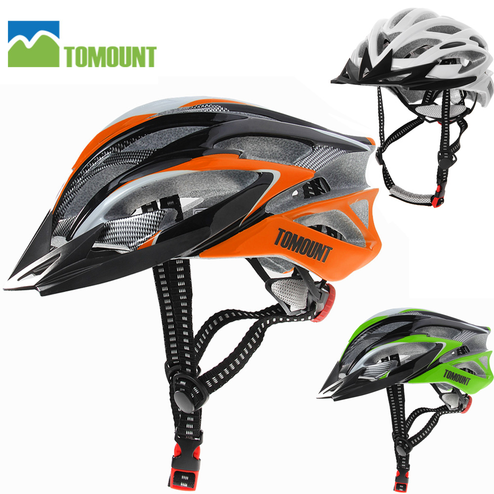 TOMOUNT Bicycle Helmets Cycling Ultralight MTB Bike Racing Helmets for Men and Women Bike Helmet 58-63cm Casco Ciclismo new bicycle helmets with cycling glasses ultralight breathable men women professional bike helmets mirror 3 lens h5063