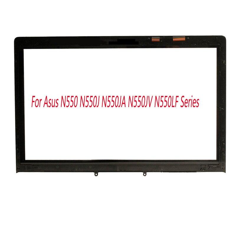 "15.6""Laptop Touch Screen Digitizer Glass Panel Sensor Lens Replacement Repairing Part for Asus N550 N550J N550JA N550JV N550LF|Laptop LCD Screen|   - title="