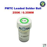 Free Shipping PMTC Leaded Solder Balls 250k 0 35 Mm For Bga Rework Reballing