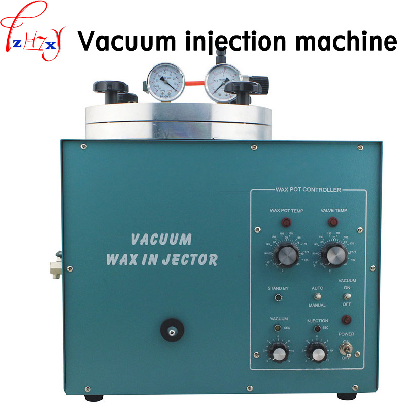 Inlet valve square vacuum injection machine VWI-2 vacuum injection machine special wax machine for plastic mould 220V 1PC plastic mould in hight quality and low price useing plastic injection mould made in china