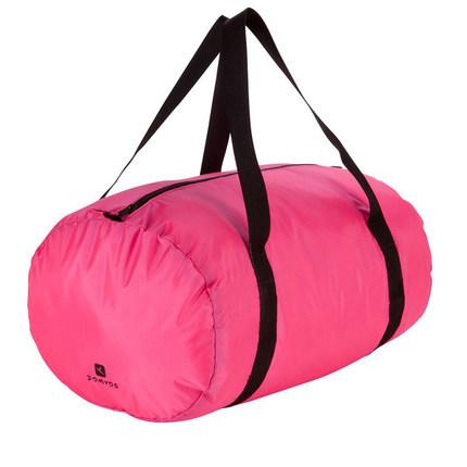 Ropa de aeróbic femenina cubo plegable bolsa