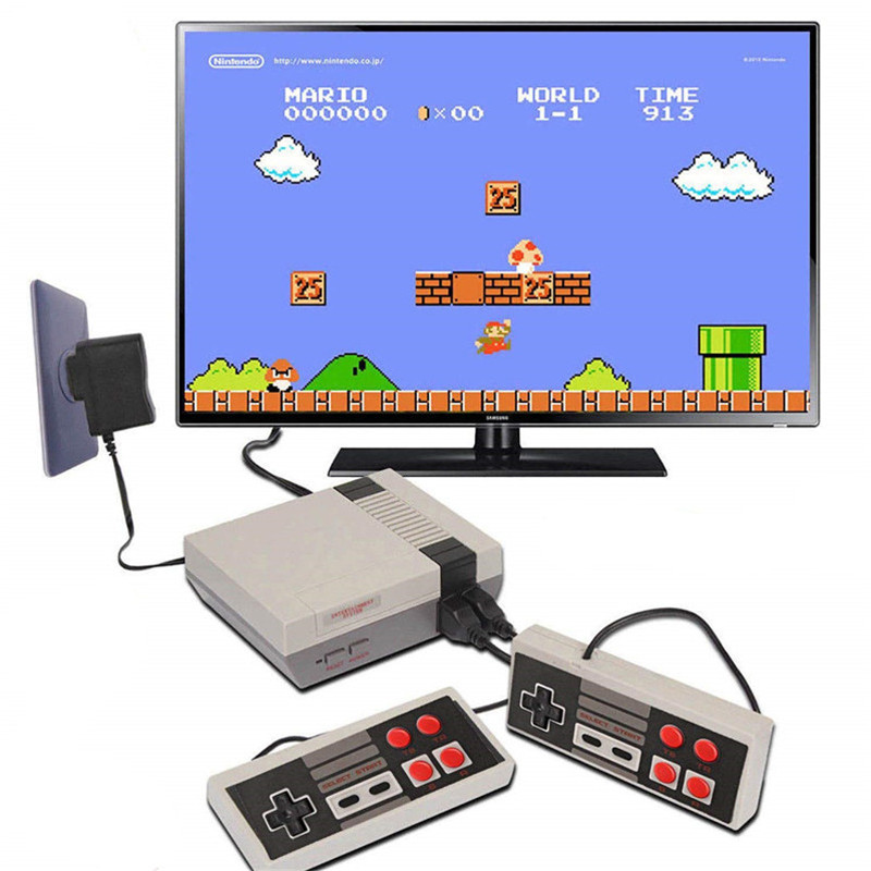 Mini TV 8 Bit Retro Video Game Console Built-In 620 Games Handheld Gaming Player