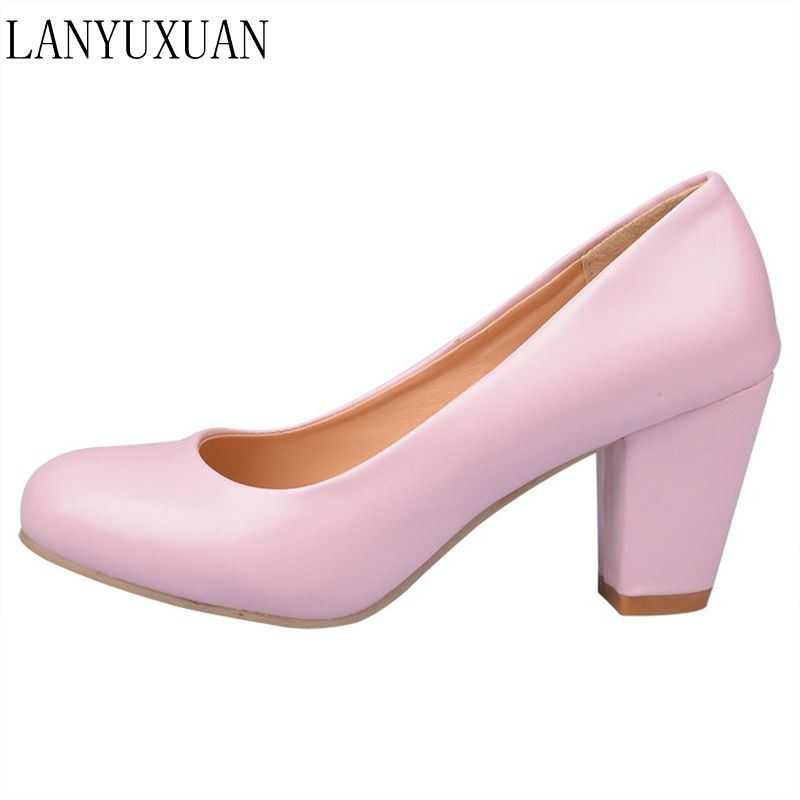 Hot Sale Zapatos Mujer Tacon Big Size 34-43 4 Colour New Spring Autumn Women's Pumps Women Shoes High Heels Pu Party 222-1 hot sale big size 32 44 fashion spring autumn women shoes sexy solid pu leather platform ankle strap high heels augz 958