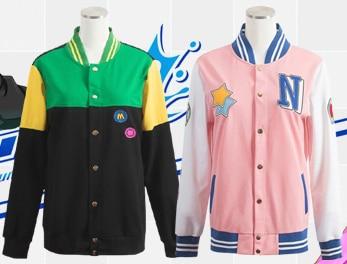 2Colors Free! Iwatobi Club Nagisa Hazuki Tachibana Makoto Cosplay Jacket Unisex Baseball Uniform Custom Cardigan Hoodie