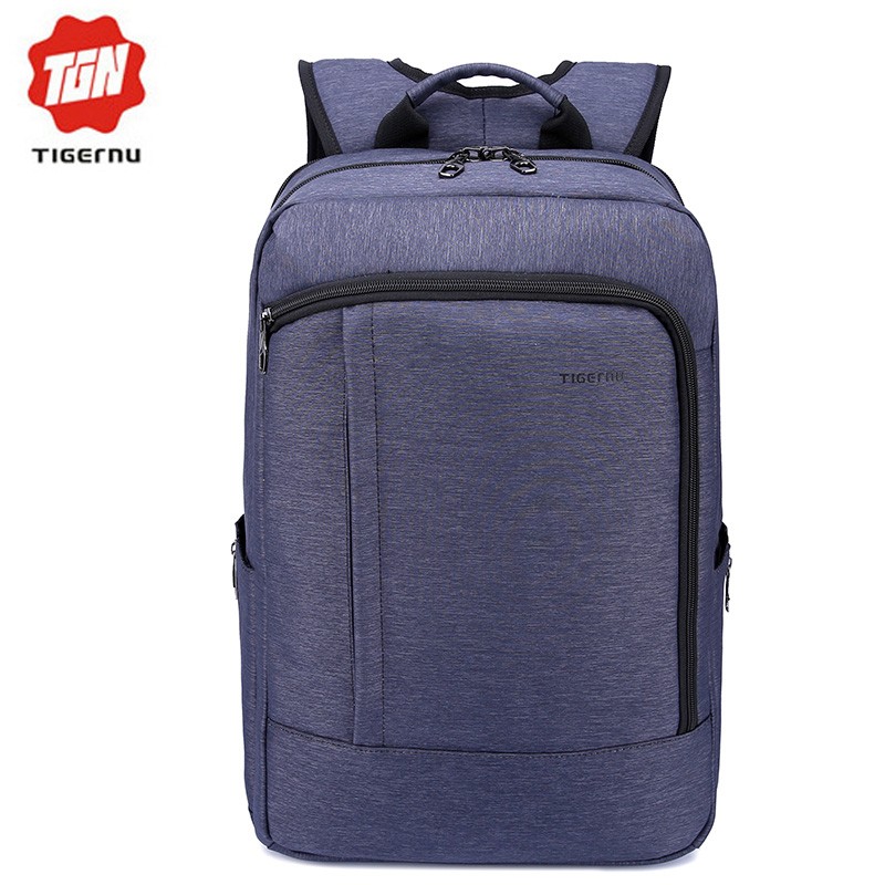 2017 Tigernu Waterpoof Nylon Women Backpack Business Mochina Black Men s Backpacks Preppy Style Summer Backpack