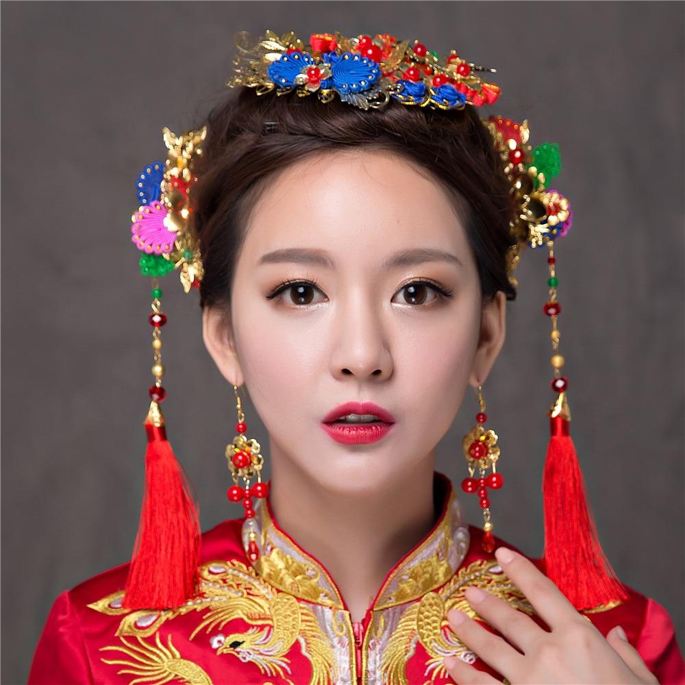 Compra accesorios para el cabello flor tradicional online al por ...