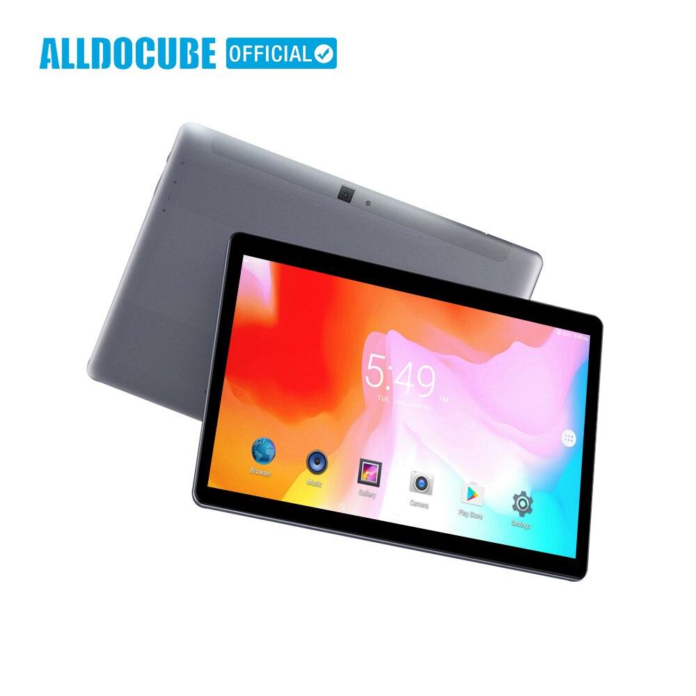 ALLDOCUBE M5S 10.1 pouces 4G LTE Phablet MTK X20 10 Core Android 8.0 Appel Téléphonique Comprimés PC 1920*1200 FHD IPS 3 GB RAM 32 GB ROM GPS