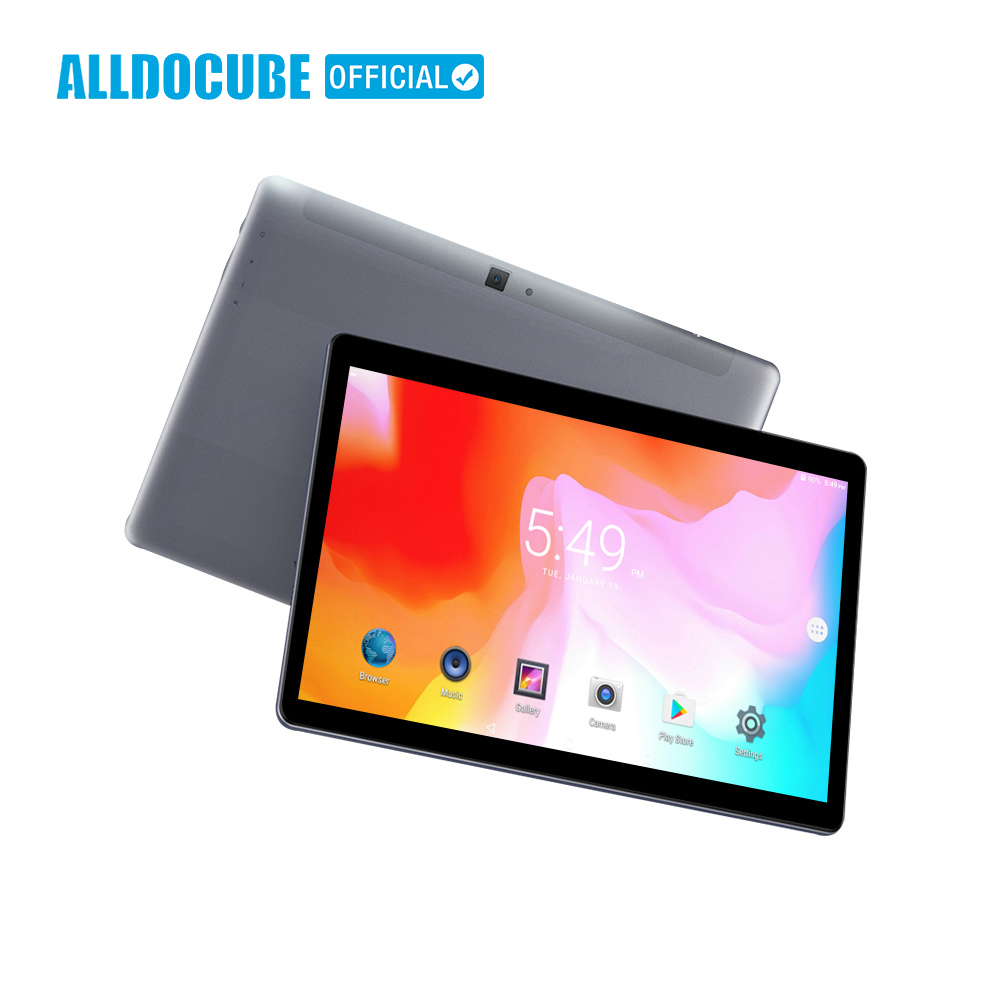 ALLDOCUBE M5S 10.1 polegada 4G LTE Phablet MTK X20 10 Núcleo Android 8.0 Phone Call Tablets PC 1920*1200 FHD IPS 32 3 GB de RAM GB ROM GPS