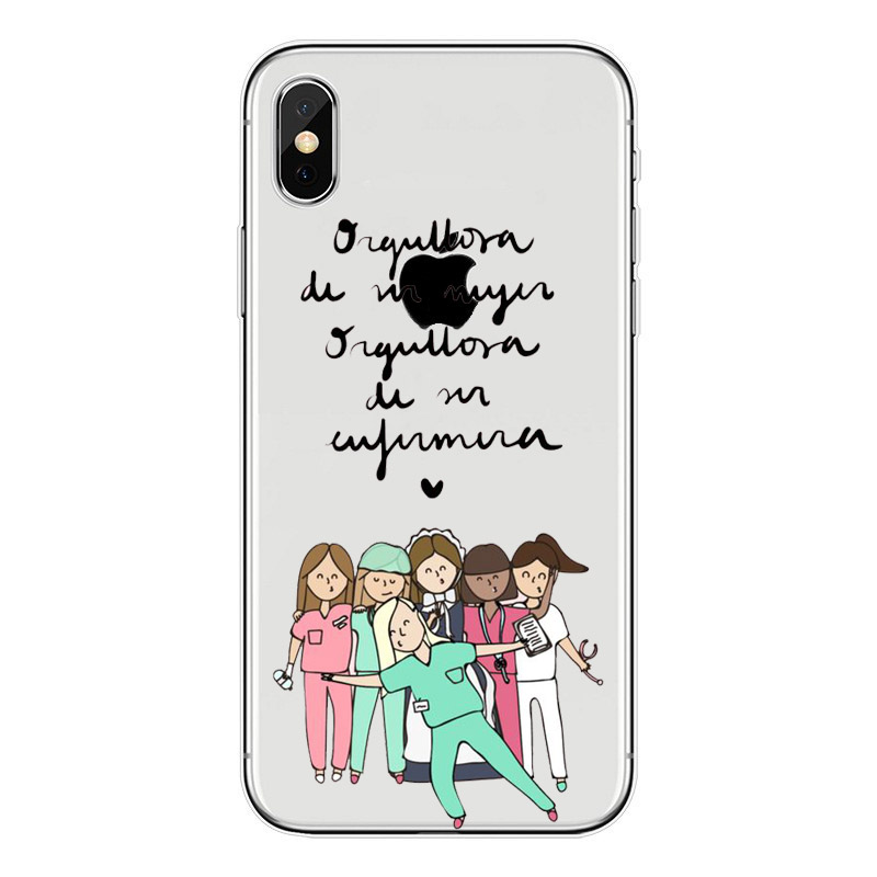 Fitted Cases Phone Bags & Cases Spain Cute Cartoon Medicine Nurse Doctor Dentist Tpu Soft Silicone Case For Iphone X 8 8plus 5 5s Se 6 6s 6plus 6splus 7 7plus