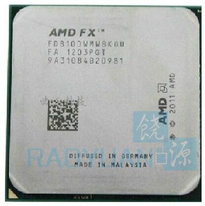 AMD FX-סדרת FX-8100 FX 8100 2.8 GHz שמונה ליבות מעבד מעבד FX8100 FD8100WMW8KGU שקע AM3 +