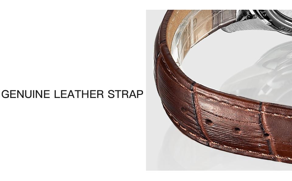 HTB1tkzIk79WBuNjSspeq6yz5VXab STARKING Automatic Watches Men Stainless Steel Business Wristwatch Leather Fashion 50M Waterproof Male Clock Relogio Masculino