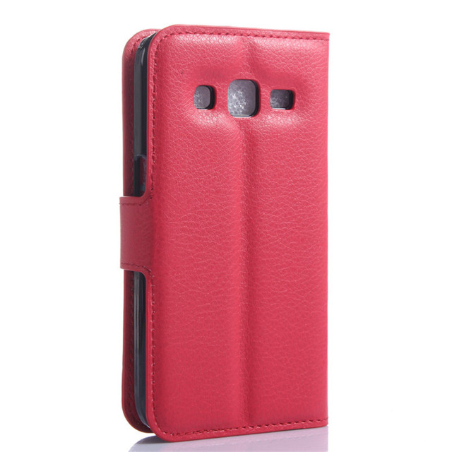 Leather Wallet Case For Samsung Galaxy Core Prime G360 G360F G360H G361 G361F G361H SM-G361H SM-G360H SM-G361F Case Flip Cover
