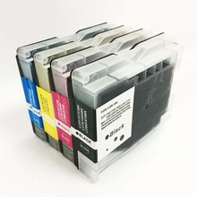 1Set Ink cartridge  For Brother LC970 LC51 For Brother MFC-130C 150C 230C 240C 260C Printer