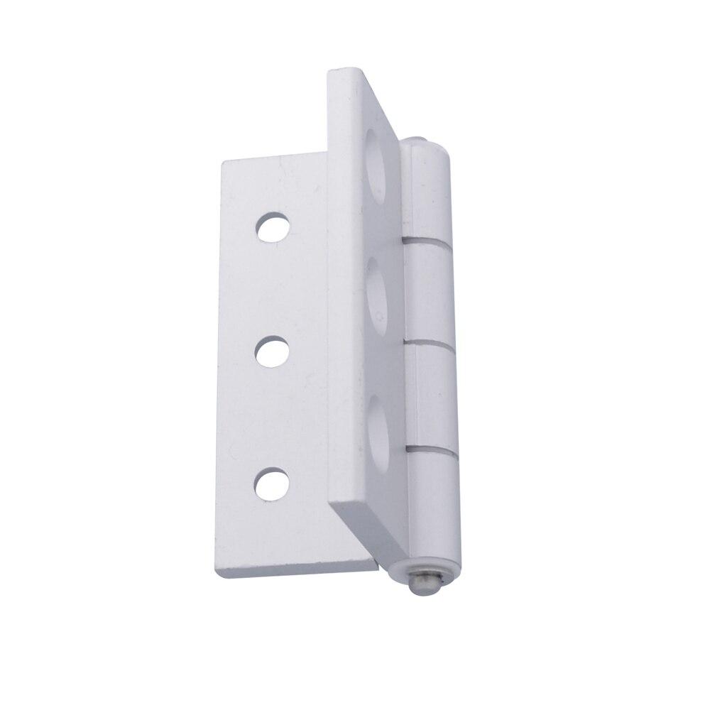 5050 Aluminum Profile Accessories 71x80mm 6 hole Door Frame Hinges on