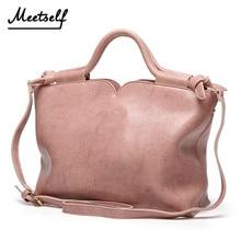 MEETSELF New 2018 Fashion PU Leather Women Wing Bag Shoulder Bag Famous Brand Women Handbag Casual Messenger Bag Saco DM-F33
