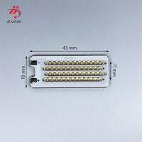 120W COB LED UV Module for Ultraviolet gel ink curing lights 3D photosensitive resin printer cure 365nm 395nm UV Lamp beads