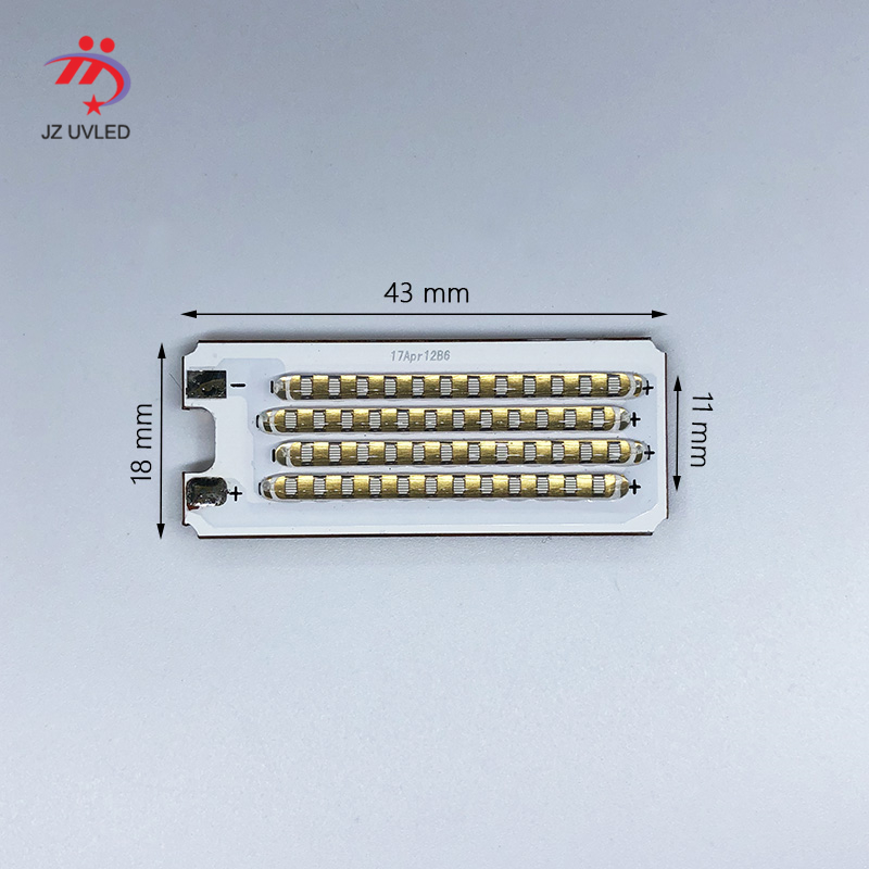 120W COB <font><b>LED</b></font> <font><b>UV</b></font> Module for Ultraviolet gel ink curing lights 3D photosensitive resin printer cure 365nm 395nm <font><b>UV</b></font> Lamp beads image