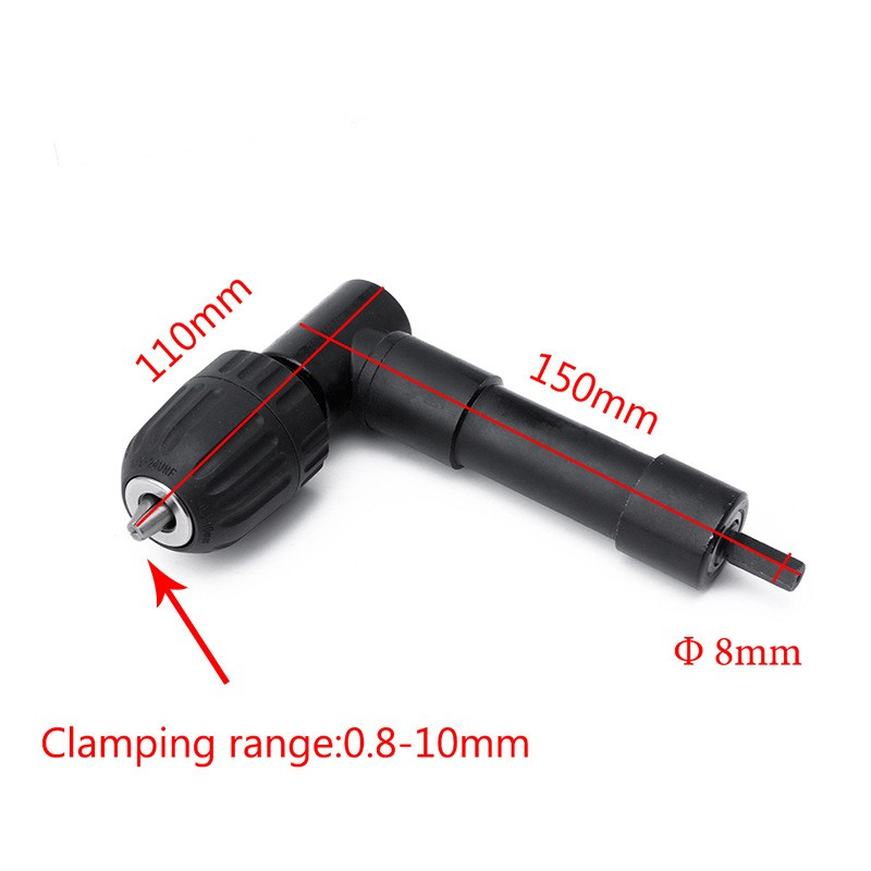 רשימת הקטגוריות 0.8-10mm מקצועי זווית ישרה מתאם בנד הרחבה Attachment מקדחה זווית ישרה 90 Cordless תואר לקדוח מתאם (3)