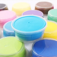 12 Pcs Colored Clay Polymer Plasticine Modelling Air Dry Playdough Light DIY Soft Creative Handgum Toys Hot Sale