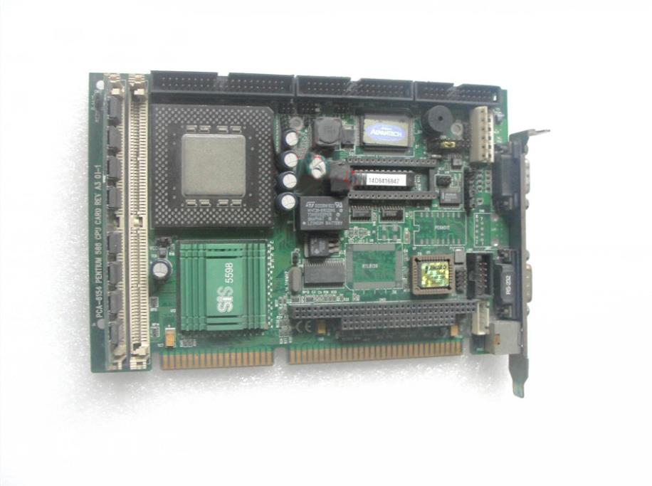 IPC motherboard and a half long 586CPU card PCA-6154 A3 100% tested perfect quality sbc8251 rev c2 industrial board 586 isa half size cpu card tested good working perfect
