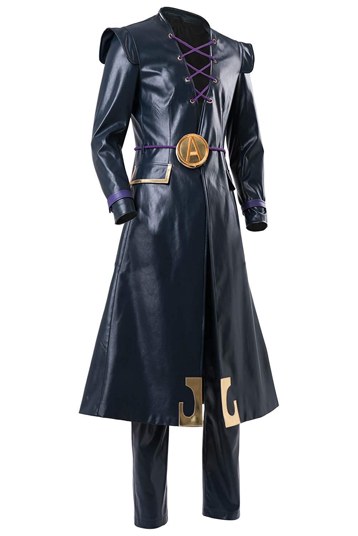Abbacchio Cosplay JoJo's Bizarre Adventure Leone Abbacchio Leather Costume Cosplay Custom Made Any Size|Anime Costumes| - AliExpress