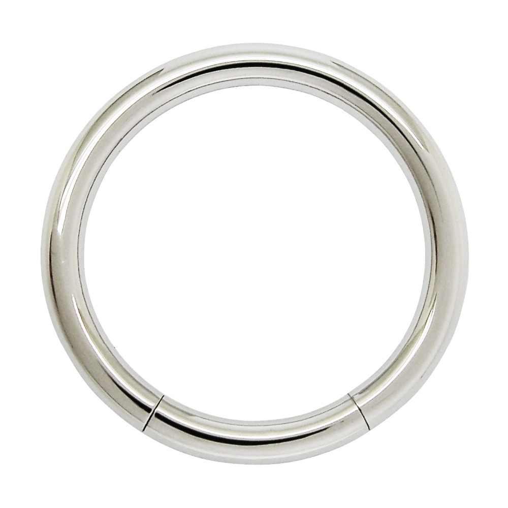 2 mm כדי 6 mm עבה נירוסטה גוף פירסינג טבעות תכשיטי טבעת מגזר מד פירסינג טבעת פירסינג titanium טבעת