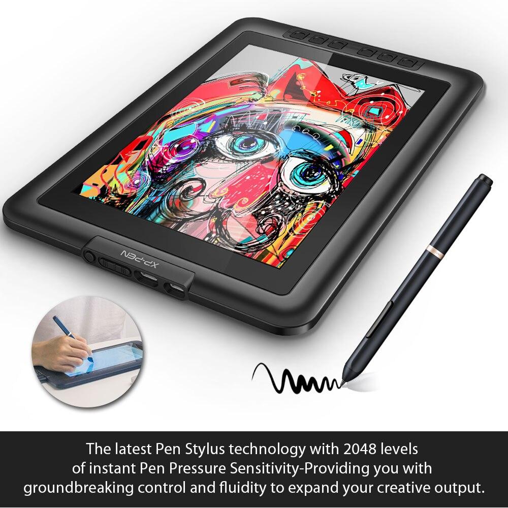 XP-Pen Artist10S rajz tablet grafikus monitor tábla toll kijelző - Számítógép-perifériák - Fénykép 4