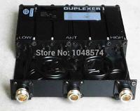 משלוח חינם משחזר 50 W VHF 6 חלל Duplexer 150 MHz מתח גבוה N נקבה מחבר