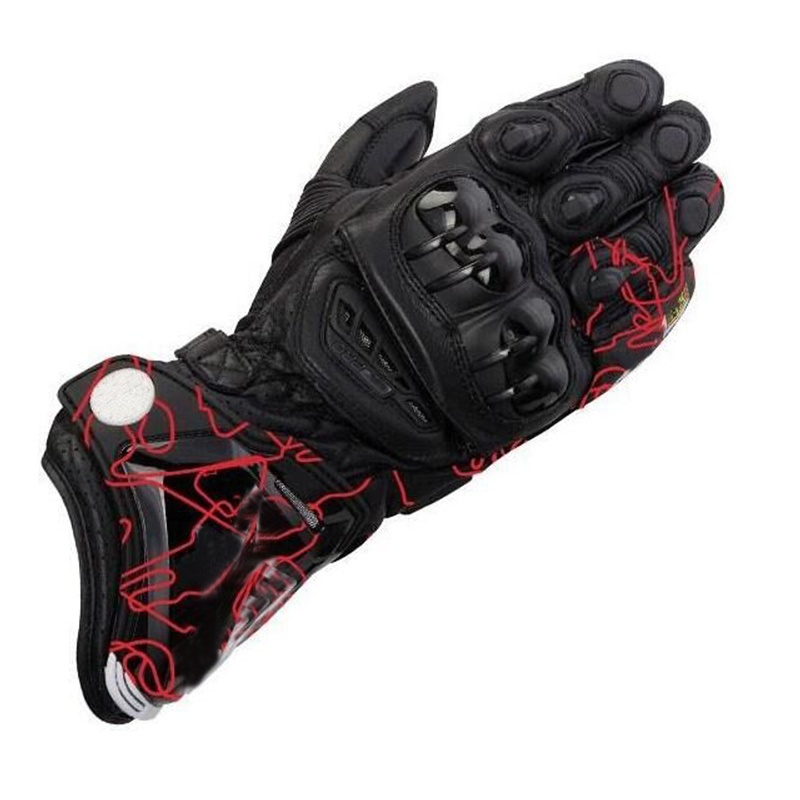 2018 4 colors New Motorcycle Pro Leather Moto GP Racing Riding Track Racing A Gloves