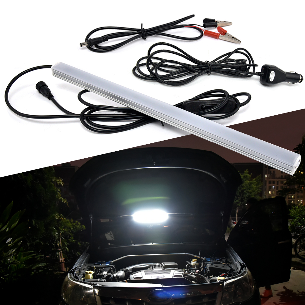 led strip 2835 magnet base outdoor camping portable auto led bar night light car repair lamp. Black Bedroom Furniture Sets. Home Design Ideas